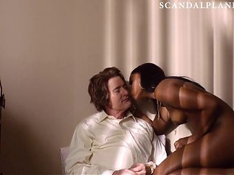 Nafessa Williams Nude in Twin Peaks On ScandalPlanet.Com