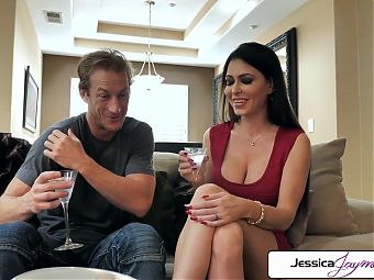 Jessica Jaymes gets pounded by a big dick, big boobs