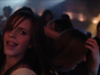 Emma Watson and Taissa Farmiga dancing in The Bling Ring
